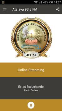 Radio Atalaya 93.3 FM Paraguay screenshot 1