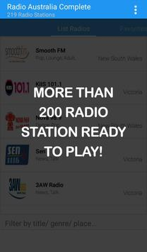 Australia Radio Complete poster