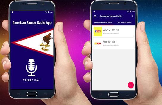 Radio American Samoa – All American Samoa Radio poster