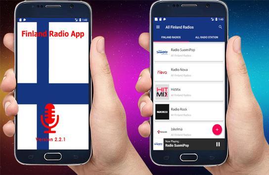 Radio Finland - All Finland Radios - Nettiradio poster