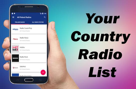 Radio Finland - All Finland Radios - Nettiradio screenshot 4