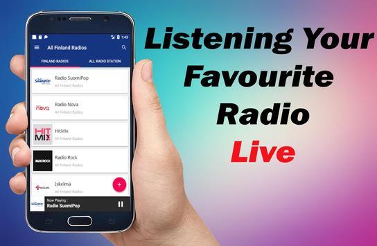 Radio Finland - All Finland Radios - Nettiradio screenshot 8