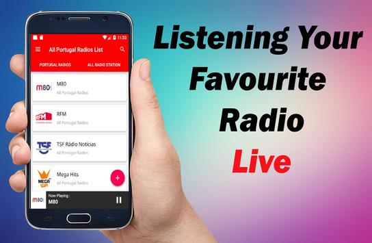 All Portugal Radios - Radio Portugal - Portugal FM screenshot 2