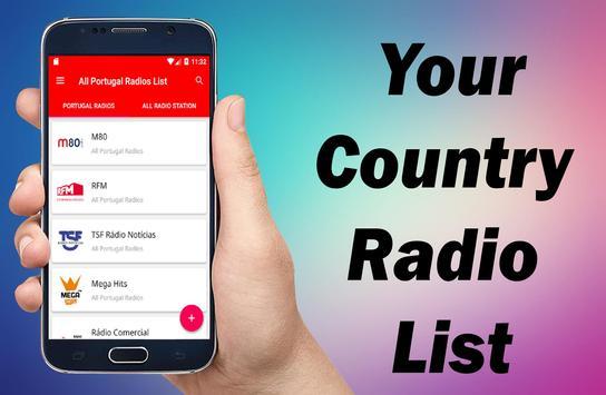 All Portugal Radios - Radio Portugal - Portugal FM screenshot 3
