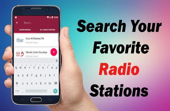 Radio Qatar - All Qatar Radios -  Qatar FM Radios screenshot 5