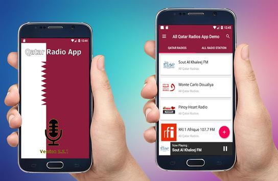 Radio Qatar - All Qatar Radios -  Qatar FM Radios poster