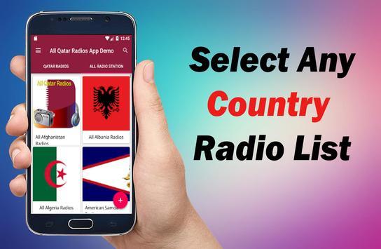 Radio Qatar - All Qatar Radios -  Qatar FM Radios screenshot 13