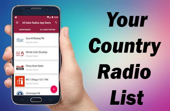 Radio Qatar - All Qatar Radios -  Qatar FM Radios screenshot 10