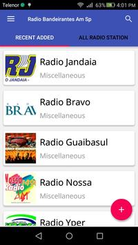 Radio Bandeirantes Am Sp apk screenshot
