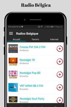 Radio Belgica Online screenshot 2