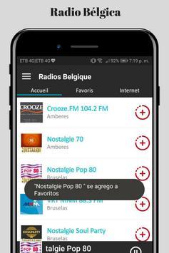 Radio Belgica Online screenshot 6