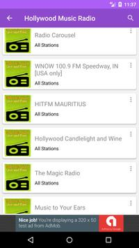 Hollywood Music Radio screenshot 1