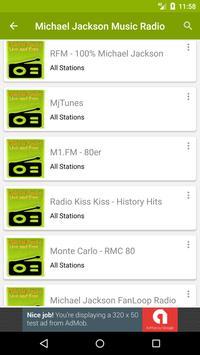 Michael Jackson Music Radio apk screenshot