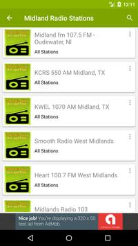 Midland Radio Stations screenshot 1