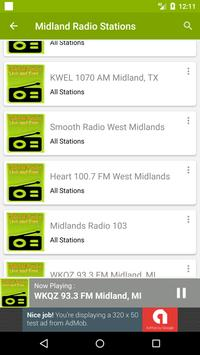 Midland Radio Stations screenshot 2