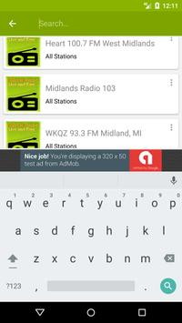 Midland Radio Stations screenshot 4