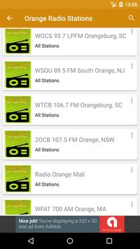 Radio Orange Online for Free apk screenshot