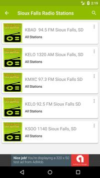 Sioux Falls Radio Stations screenshot 1