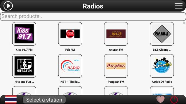 Thailand Radio FM screenshot 3