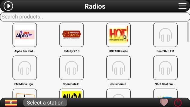 Uganda Radio FM apk screenshot
