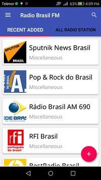 Radio Brasil FM poster
