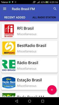 Radio Brasil FM apk screenshot