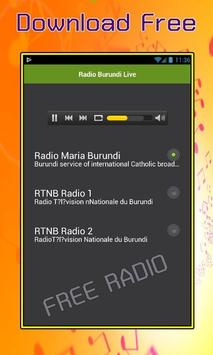 Radio Burundi Live screenshot 1