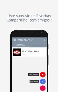 Piauí Rádio Gospel screenshot 2