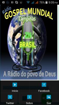 Rádio Gospel Mundial apk screenshot