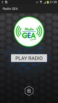 Radio GEA poster
