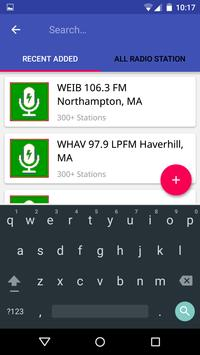 Massachusetts Radio Stations apk screenshot
