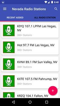 Nevada Radio Stations poster