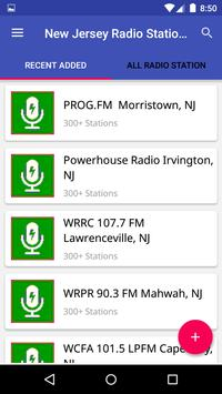 New Jersey Radio Stations poster