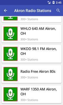 Akron Radio Stations screenshot 2