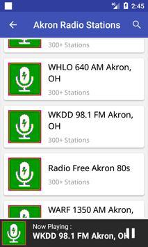 Akron Radio Stations screenshot 3