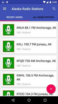 Alaska Radio Stations poster