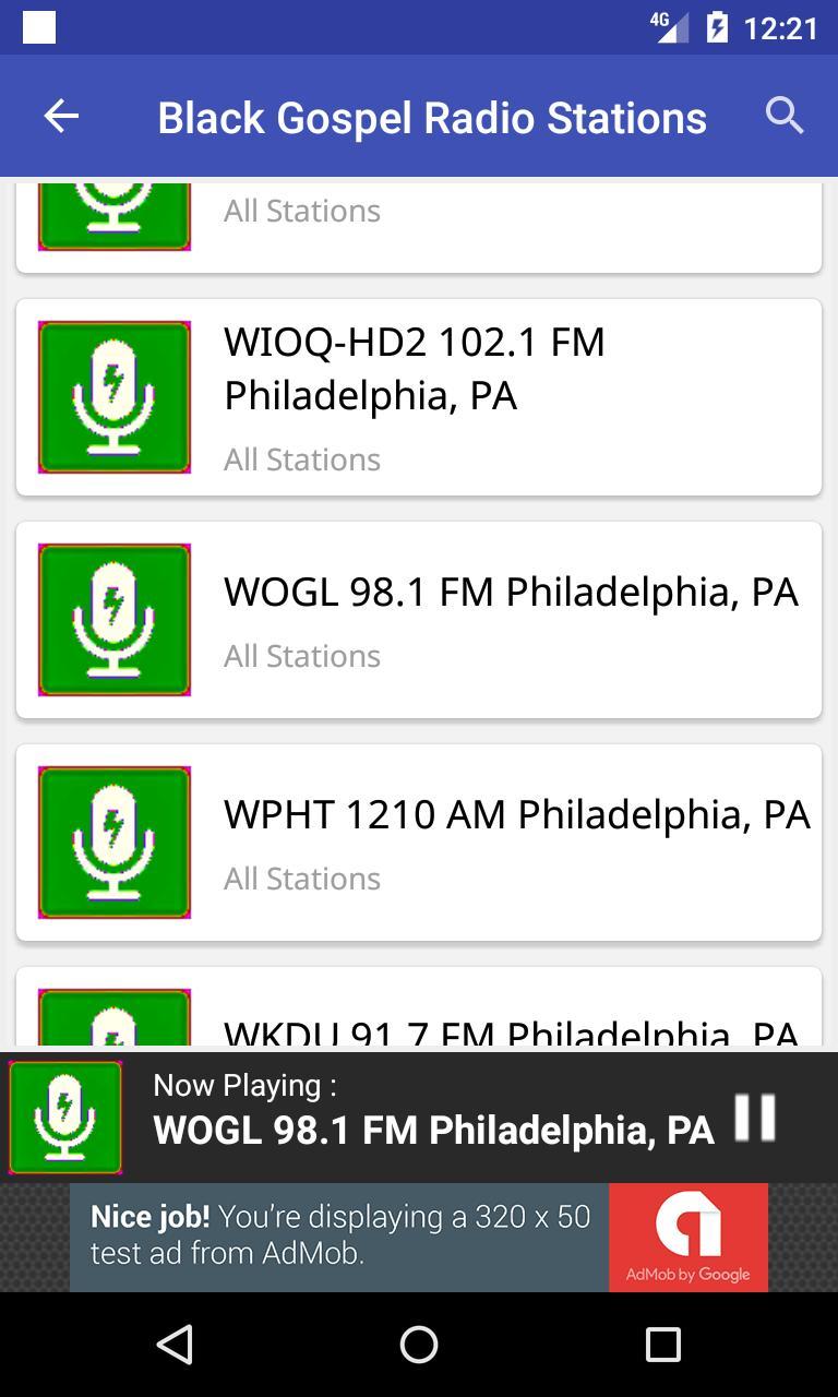 Black Gospel Radio Stations for Android - APK Download