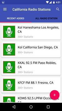 California Radio Stations poster