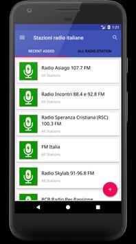 Italian Radio Stations - Stazioni radio italiane poster