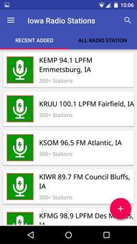 Iowa Radio Stations poster