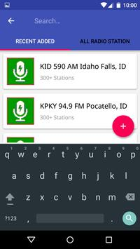 Estaciones de Radio FM de Idaho apk screenshot