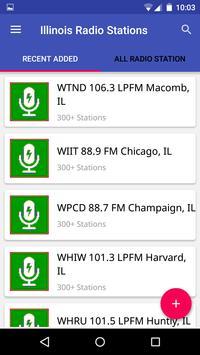 Illinois Radio Stations poster