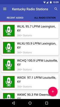Kentucky Radio Stations poster