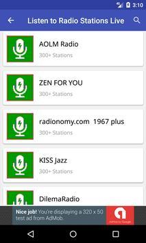 Listen to Radio Stations Live screenshot 1