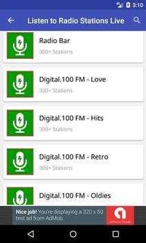Listen to Radio Stations Live screenshot 2