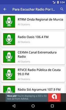 Para Escuchar Radio Por Internet screenshot 1