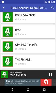 Para Escuchar Radio Por Internet screenshot 3