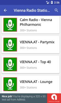 Vienna Radio Stations screenshot 1
