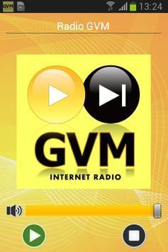 Radio GVM poster