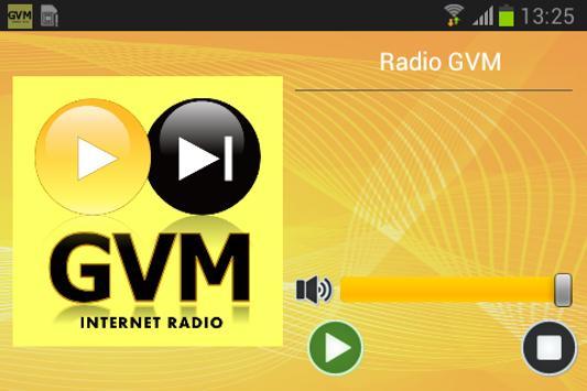 Radio GVM screenshot 1